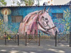 Street Art - Horse