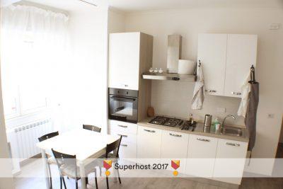 STEREO'Glu ApARTment -  Lato cucina vista di insieme