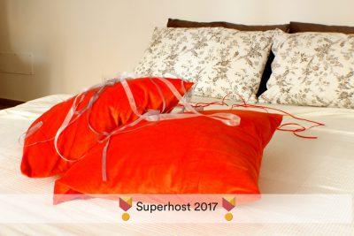 STEREO'Glu ApARTment - Living room - Divano letto aperto - Dettaglio
