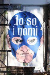 Roma - Pigneto - Street Art - Pasolini SuperEroe