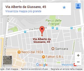 Conad Giussano - Pigneto - Roma - Mappa