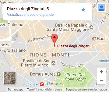 Fata Morgana - Monti District - Rome - Map