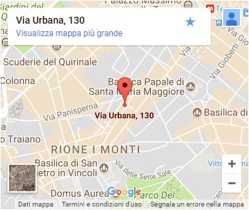 Grezzo Raw Chocolate - Rome - Map