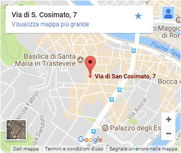Mama Eat - Rome - Map