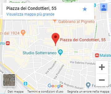 Fattori - Pigneto - Rome - Map
