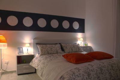 STEREO - Bedroom - Angled view - Camera da letto - Vista d'angolo