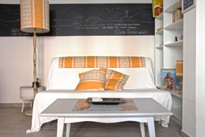 STEREO - Sofa Bed - Front View - Divano Letto - Vista frontale