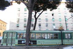 Roma - Pigneto - Tram d'epoca