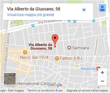 Macelleria Fioravanti - Pigneto - Roma - Mappa