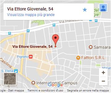 Na Cosetta - Pigneto - Roma - Mappa