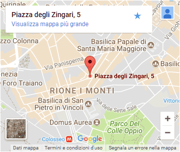 Fata Morgana - Monti District - Rome - Map