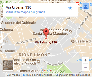 Grezzo Raw Chocolate - Rome - Map