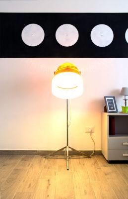 STEREO - Bedroom - Hair Dresser Elmet Lamp - Camera da letto - Cascampada