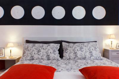 STEREO - Bedroom - Front view - Camera da letto - Vista frontale