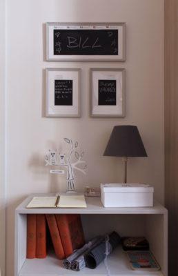 STEREO - Living Room - Guestbook corner - Salone - Angolo libro degli ospiti