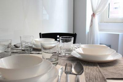 STEREO - Kitchen - Table Detail -  Cucina - Dettaglio Tavola Apparecchiata
